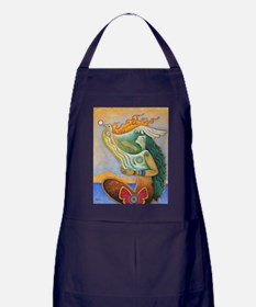 Rooted in Reverence Apron (dark)