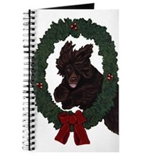 Cute Irish water spaniels Journal
