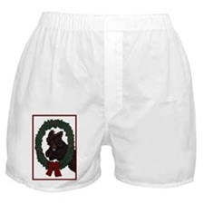 Cute Irish water spaniels Boxer Shorts