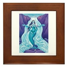 Awakened Aphrodite Framed Tile