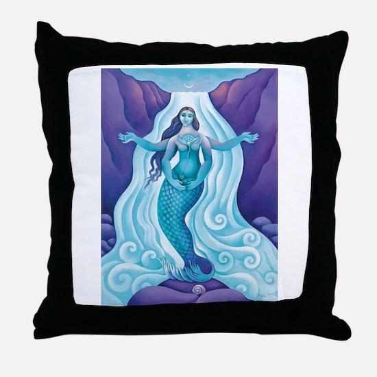 Awakened Aphrodite Throw Pillow