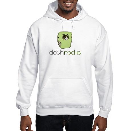 Cloth Rocks Hooded Sweatshirt