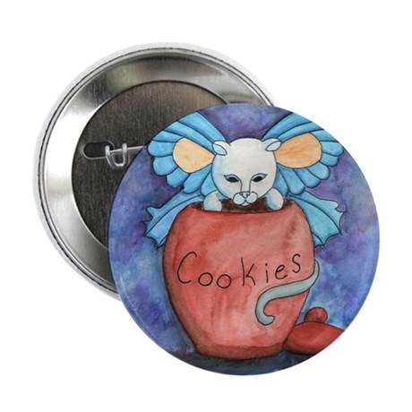 """Cookie Theif 2.25"""" Button (10 pack)"""