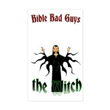 Witch of Endor Rectangle Decal