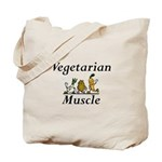 TOP Vegetarian Muscle Tote Bag