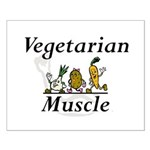 TOP Vegetarian Muscle Small Poster