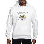 TOP Vegetarian Muscle Hooded Sweatshirt