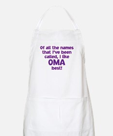 I LIKE BEING CALLED OMA! Apron