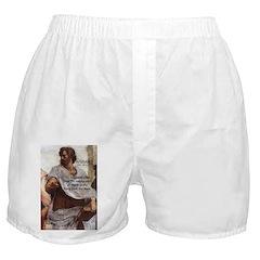 Aristotle Education Quote Boxer Shorts