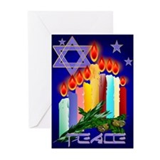 Candles 'N' Star Greeting Cards (Pk of 20)