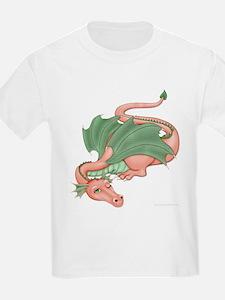 Coral Dragon Kids T-Shirt