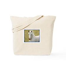 White Colt Tote Bag