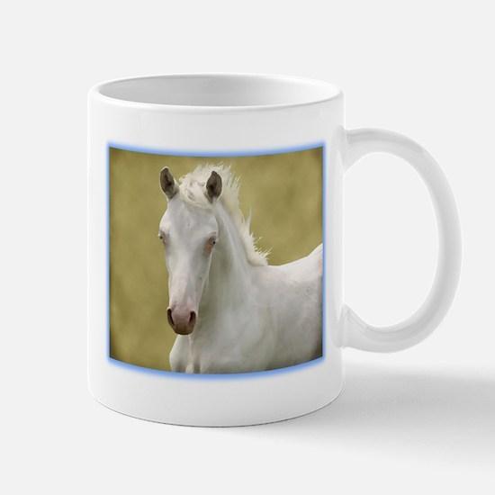 White Colt Mug