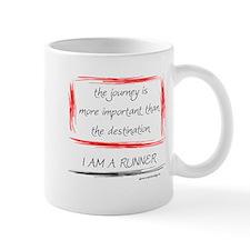 I Am A Runner Slogan #6 Coffee Mug