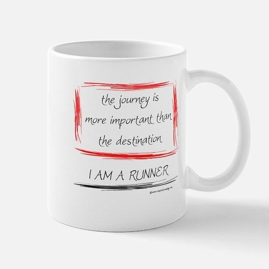 I Am A Runner Slogan #6 Mug