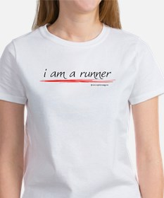 I Am A Runner Slogan #6 Women's T-Shirt