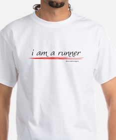 I Am A Runner Slogan #6 Shirt