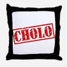 Cholo Stamp Throw Pillow