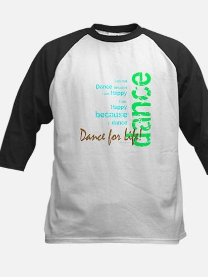 Dance for Life 1 Kids Baseball Jersey