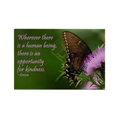 Butterfly Kindness Magnet Magnets