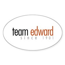Team Edward: Since 1901 Oval Decal
