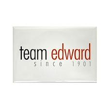 Team Edward: Since 1901 Rectangle Magnet