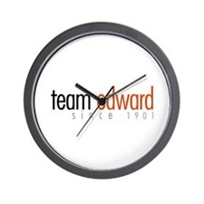 Team Edward: Since 1901 Wall Clock