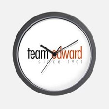 Team Edward: Since 1901 Wall Clock