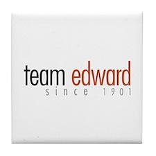 Team Edward: Since 1901 Tile Coaster