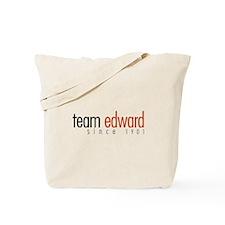 Team Edward: Since 1901 Tote Bag