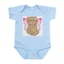 Blowing Kisses Fairy Bear Infant Bodysuit