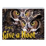 Eastern Wildlife Center Wall Calendar