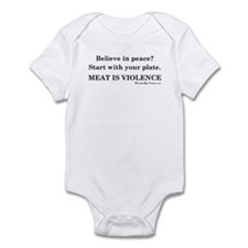 Peaceful Eating Infant Bodysuit