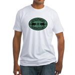 Department of Wombatology Fitted T-Shirt