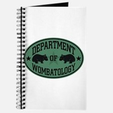 Department of Wombatology Journal