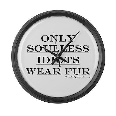 Anti-Fur Large Wall Clock