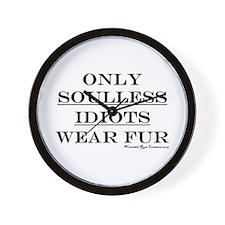 Anti-Fur Wall Clock