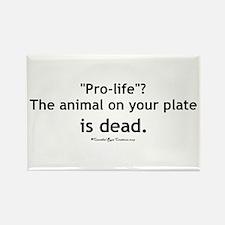 Eat Pro-Life Rectangle Magnet