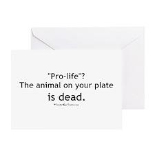 Eat Pro-Life Greeting Card