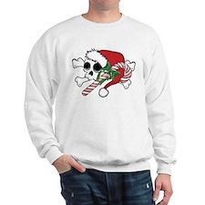 Cute Santa Skull Sweatshirt