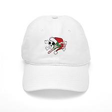 Cute Santa Skull Baseball Baseball Cap