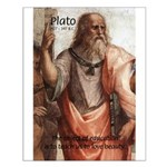 Plato Education Love Beauty Small Poster