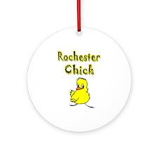 Rochester Chick Ornament (Round)
