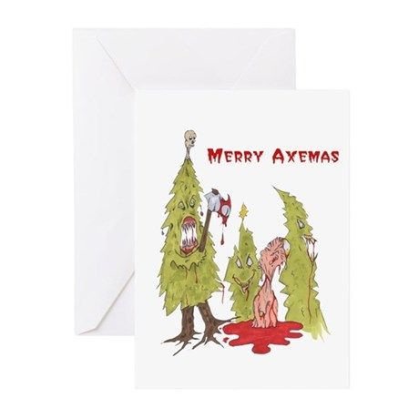 Merry Axemas Greeting Cards (Pk of 20)