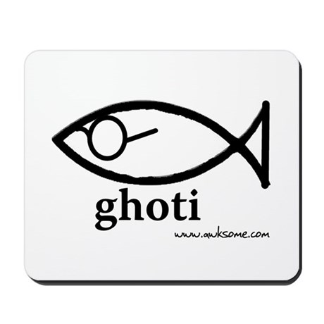 """Ghoti"" Mousepad"