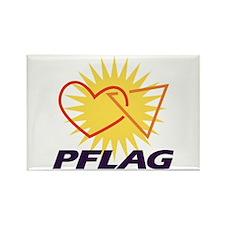 PFLAG of Winston-Salem Rectangle Magnet