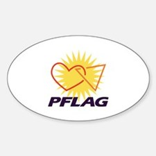 PFLAG of Winston-Salem Oval Decal