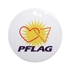 PFLAG of Winston-Salem Ornament (Round)