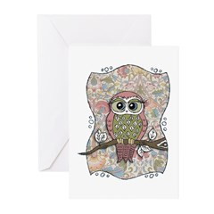 Owl Portrait Greeting Cards (Pk of 20)