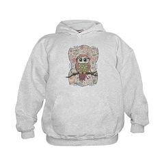 Owl Portrait Hoodie
